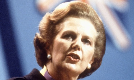 Margaret Thatcher in 1982.