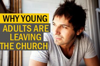 Young Adults Leaving Church